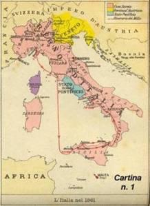 Prima dell'unità d'Italia