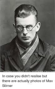 Stirner-Beckett